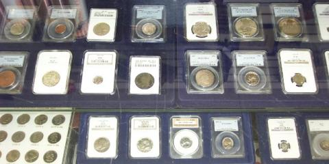 4 Methods for Storing Your Rare Coins Explained by Franklin Street Coin Company, Sharonville, Ohio