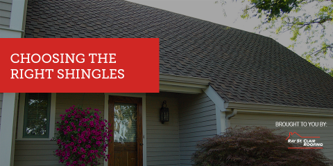 Choosing The Right Shingles With Cincinnatiu0027s Best Roofing Contractors    Ray St. Clair Roofing   Fairfield | NearSay