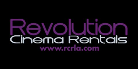 Quality Cinema Rental From Revolution Cinema Rentals, San Fernando Valley, California
