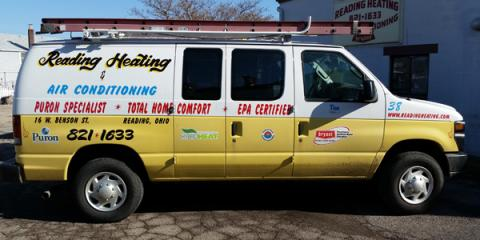 Reading Heating & Air Conditioning Inc, Heating and AC, Services, Cincinnati, Ohio