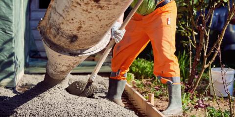 5 Advantages of Using Ready-Mix Concrete at Your Construction Site, Butler, Kentucky