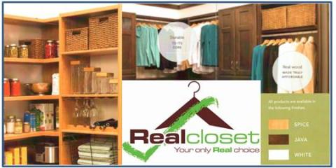 Real Closet Shelving, Mountain Home, Arkansas