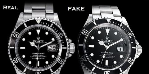 Top 3 Giveaways Of A Fake Rolex, Carle Place, New York