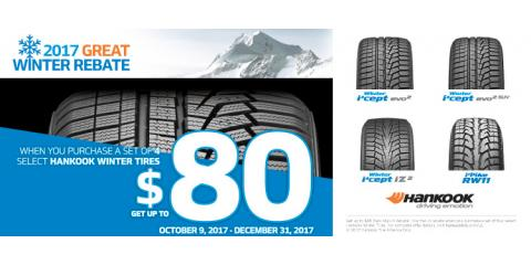 Winter Rebate When You Purchase a Set of Qualifying Tires, Hazelwood, Missouri