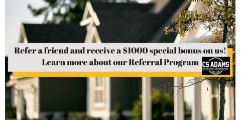 Referral Program - Earn $1000 By Referring A Friend, Dothan, Alabama