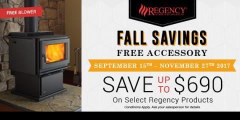 Free Wood Stove Blower and Gas Fireplace Venting, Pine Ridge, Alabama