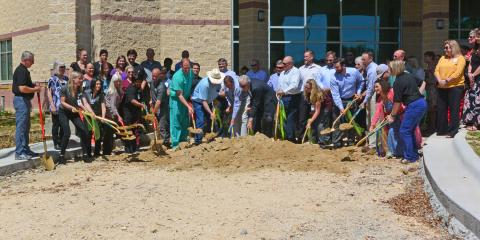 Coryell Health Celebrates Ground Re-breaking, Gatesville, Texas