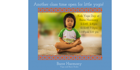 Second Class time open for 2-6yr little yogis!, St. Charles, Missouri