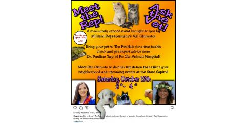 Come join us for our special event October 12th!, Ewa, Hawaii