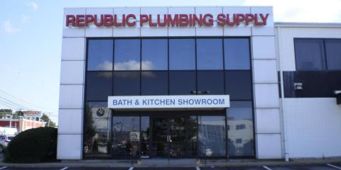 Benefit From Five Divisions of Home Improvement Supplies at Republic Plumbing Supply's Welcoming Showroom, North Pembroke, Massachusetts