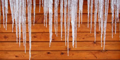 Residential Roofing Contractors Explain the Dangers of Ice Dams, Glastonbury Center, Connecticut