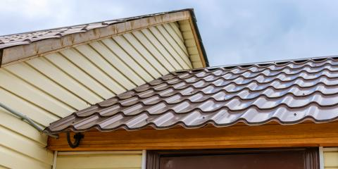 3 Major Advantages of Metal Roofing, Elkridge, Maryland