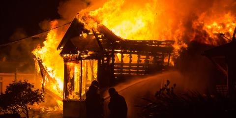 A Restoration Service Explains What to Do After a House Fire, Evergreen, Montana