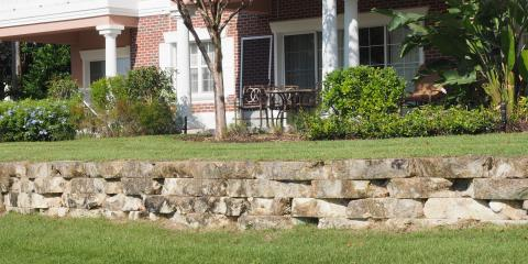 3 Types of Retaining Walls for Your Home Landscape, Jessup, Maryland