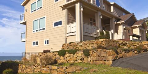 How a Retaining Wall Can Help Break Up a Sloping Yard, Orange Beach, Alabama