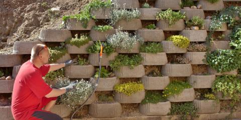 How to Maintain a Retaining Wall, Salem, Iowa