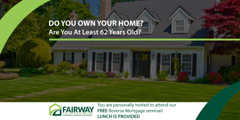 JUST 3 DAYS AWAY! SIGN UP NOW! Free Reverse Mortgage Seminar, Edina, Minnesota