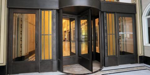 3 Security Features of Revolving Doors, Grandview, Ohio
