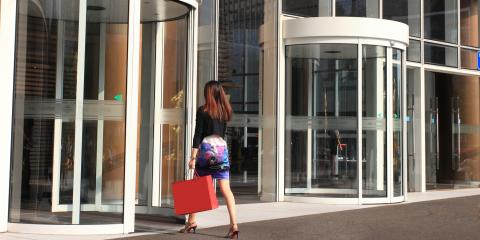 4 Benefits of Revolving Doors at Your Business, Grandview, Ohio