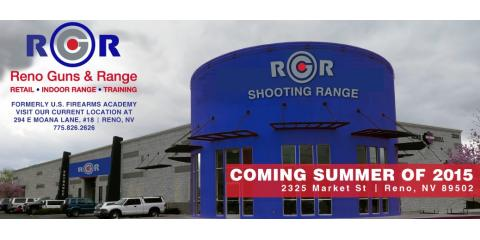 Reno Guns & Range - New Location on Market St Opening Late July, Reno, Nevada