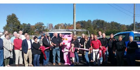 Skywalker Roofing Ribbon Cutting Ceremony, Stokesdale, North Carolina