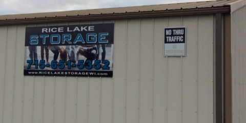 Rice Lake Storage, Storage, Services, Rice Lake, Wisconsin
