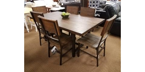riggerton dining table 6 chairs 741 st louis missouri