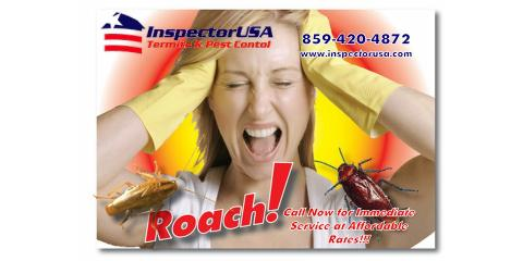 InspectorUSA Termite & Pest Control Gets Rid of Pests With Pest Specific Control Programs, Lexington-Fayette, Kentucky