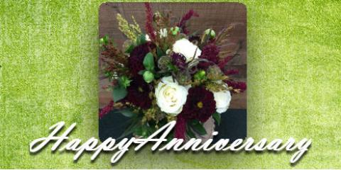 Celebrate Terence Miller's Anniversary With Roaring Oaks Florist, Lakeville, Connecticut