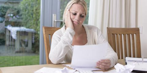 3 Signs You Could Benefit From Declaring Bankruptcy, Rochester, New York