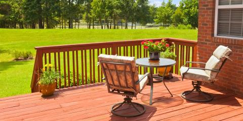 3 Benefits of Having a Deck Built, Rochester, New York