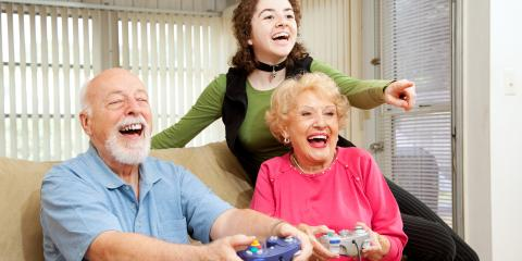 3 Benefits Video Games Provide Older Adults, Henrietta, New York