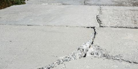 What Are Common Causes for Cracking Concrete?, Newark, New York