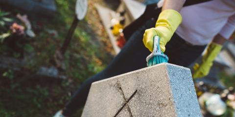 Headstone Cleaning & Preservation Advice From McGee Monuments, Rochester, New York