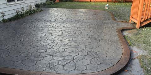 4 FAQs About Stamped Concrete: Rochester's Experts Answer, Gates, New York