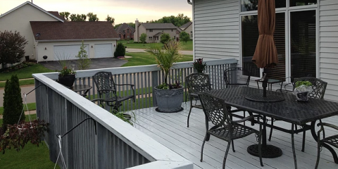 How a Deck Built by Home Improvement Experts Enhances Living Space, Rockford, Illinois