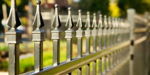 3 Benefits of Aluminum Fences, Hamptonburgh, New York