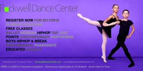 Rockwell Dance Center, Dance Lessons, Arts and Entertainment, Trumbull, Connecticut