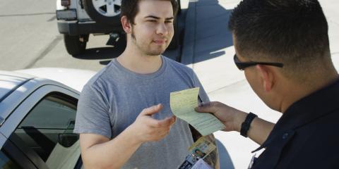 3 Most Common Traffic Tickets, Stony Creek, North Carolina