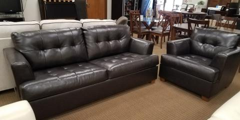 SLEEPER SOFA AND CHAIR-CHOCOLATE-ROEBAND BY ASHLEY-$550, St. Louis, Missouri