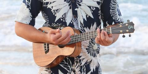 4 Types of Ukuleles, Waikane, Hawaii
