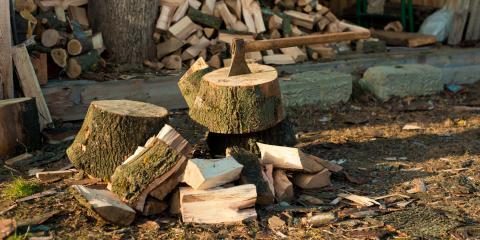 3 Ways to Stack Firewood, Nekoosa, Wisconsin