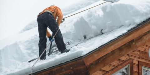 Roof Repair Professionals Explain Why Ice Removal Is Important, Arnold, Missouri