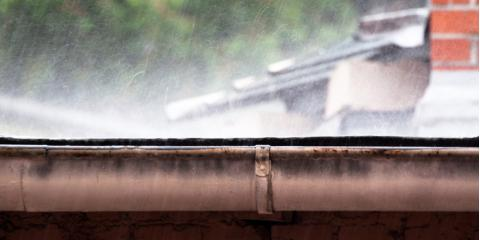 3 Key Benefits of Rain Gutter Installation, West Chester, Ohio
