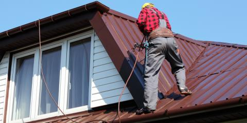 3 Signs You're in Need of Metal Roof Repairs, New Milford, Connecticut