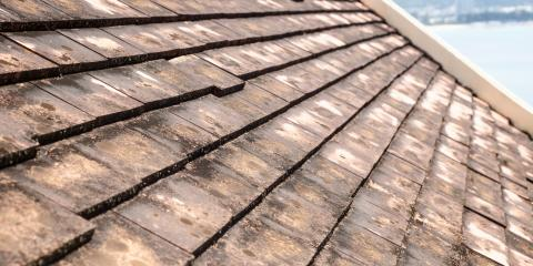Why Are There Streaks on Your Roof? Roofing Contractor Explains, Lorain, Ohio