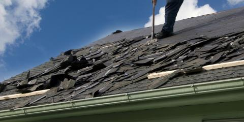 What Hail & Wind Do to Your Roofing Shingles, St. Louis, Missouri