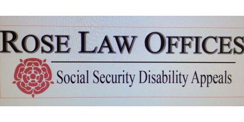 Rose Law Offices, Social Security Law, Services, Puyallup, Washington