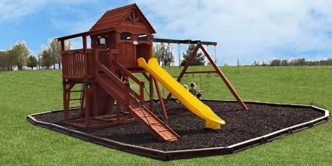 3 Benefits of Using Rubber Mulch Under Your Play Set, Broken Arrow, Oklahoma