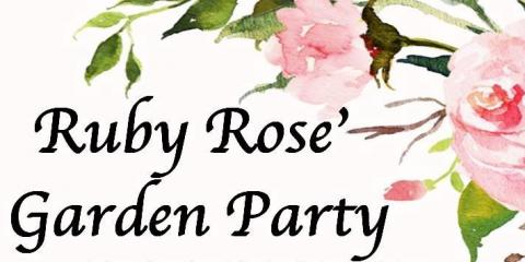 Join Us For a Rose' Garden Party to Debut Our 2017 Vintage Ruby Rose', Sugar Creek, Illinois